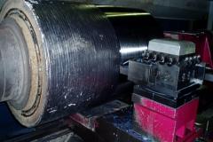 Mecanización de rodillos